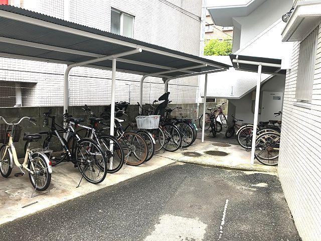 【駐輪場】グリーンマンション西新