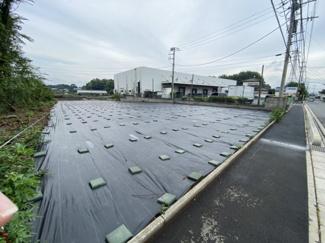 【外観】三芳町上富 資材置場用地 関越自動車道『所沢IC』より車で7分
