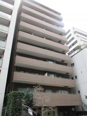 【外観】恒陽サンクレスト築地 9階 角 部屋 リ ノベーション済