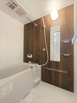 【浴室】【新築】ポライトリーA