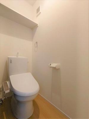 【トイレ】【新築】ポライトリーA