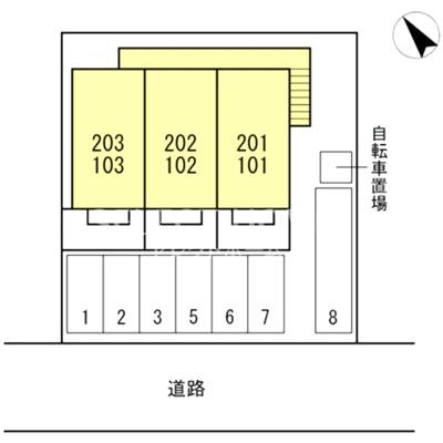 【区画図】エスポワール栄