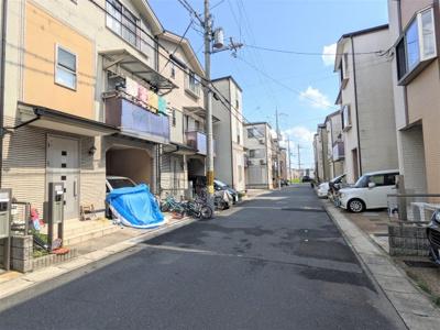 【前面道路含む現地写真】京都市伏見区久我西出町