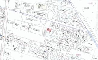 【地図】東雲町・原パーキング