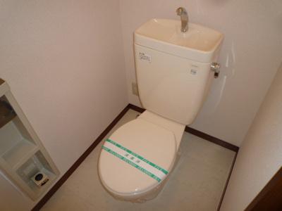 シャワー付きトイレに変更