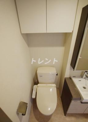 【トイレ】プレールドゥーク神楽坂