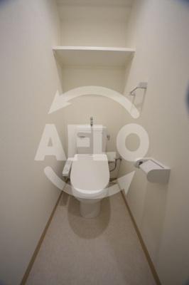 アリビオ夕陽丘 トイレ