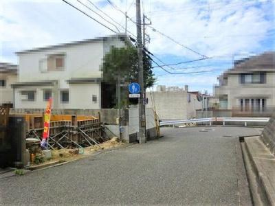【前面道路含む現地写真】神戸市垂水区青山台3丁目 新築戸建