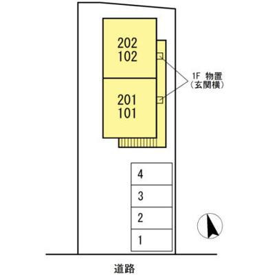【区画図】コーポ石川