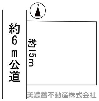 【区画図】45079 瑞穂市牛牧土地