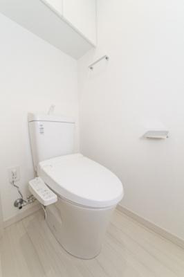 トイレもきれいです 温水洗浄便座