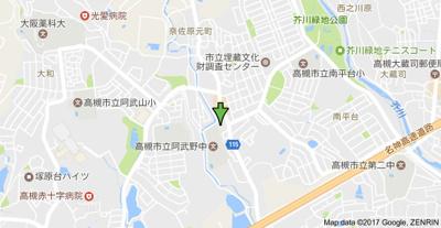【地図】南平台ヤタヒルズⅠ㈱Roots