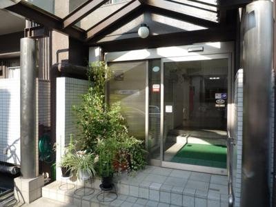 【エントランス】渋谷本町マンション