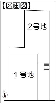 【区画図】徒歩9分で2WAYアクセス可能◎収納充実4LDK◎駐車2台可能◎伏見区深草中ノ島町