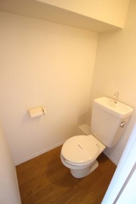 【トイレ】レオパレスクオーレ