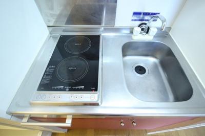 【キッチン】レオパレスクオーレ