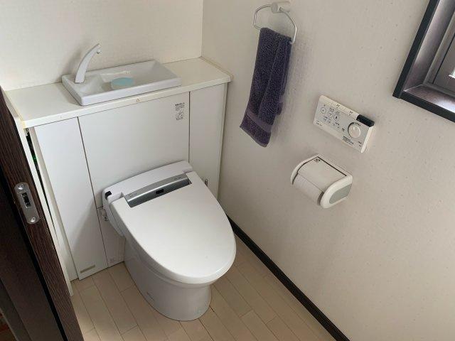 【トイレ】加須市上三俣 中古一戸建て