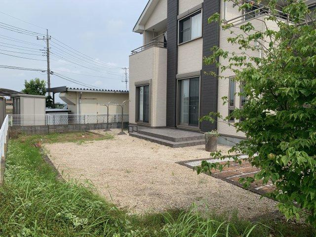 【庭】加須市上三俣 中古一戸建て