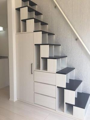 階段が収納