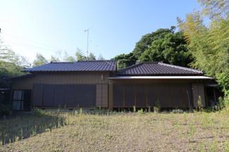 香取市下飯田 中古戸建 笹川駅 和風の平屋建てです。
