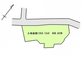 香取市下飯田 中古戸建 笹川駅 土地面積:1354.13㎡(409.62坪)
