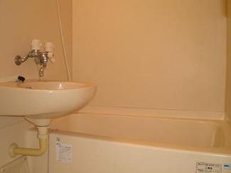 【浴室】レオパレスドゥトゥロア