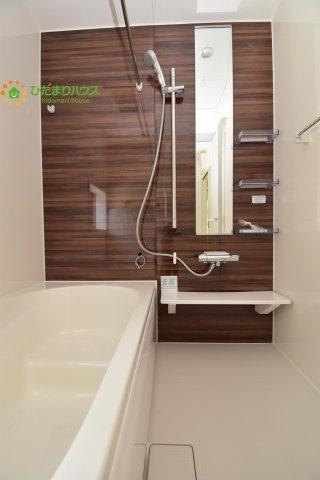 【浴室】西区土屋 3期 新築一戸建て グラファーレ 09