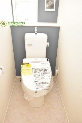 【トイレ】西区土屋 3期 新築一戸建て グラファーレ 09