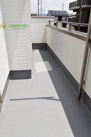 【バルコニー】西区土屋 3期 新築一戸建て グラファーレ 09