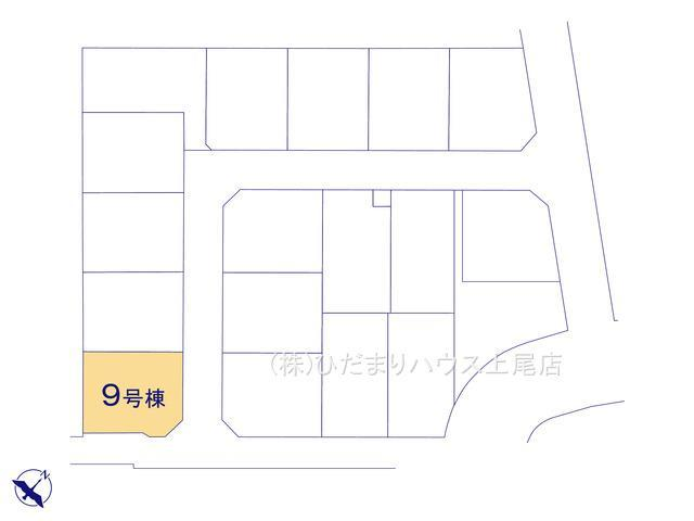 【区画図】西区土屋 3期 新築一戸建て グラファーレ 09