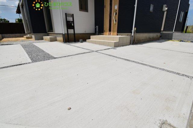 【駐車場】西区土屋 3期 新築一戸建て グラファーレ 09