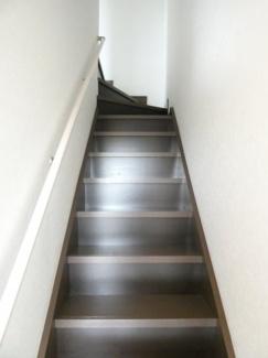 メゾネット室内階段