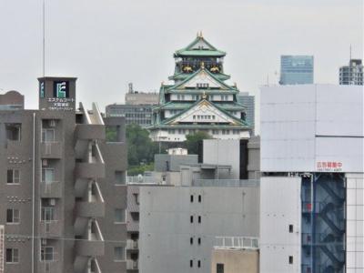 大阪城がご覧いただけます