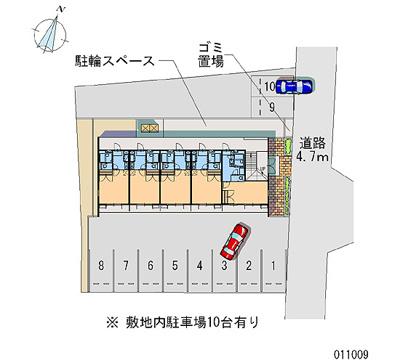 【区画図】レオパレス松井