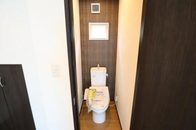 トイレもコンパクトです。