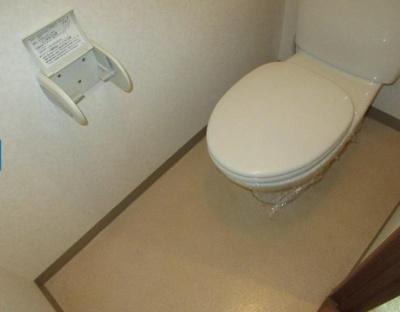 【トイレ】第89杉フラットYUU