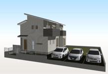 高知市観月新築戸建の画像