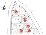 高知市中秦泉寺建築条件付売地の画像