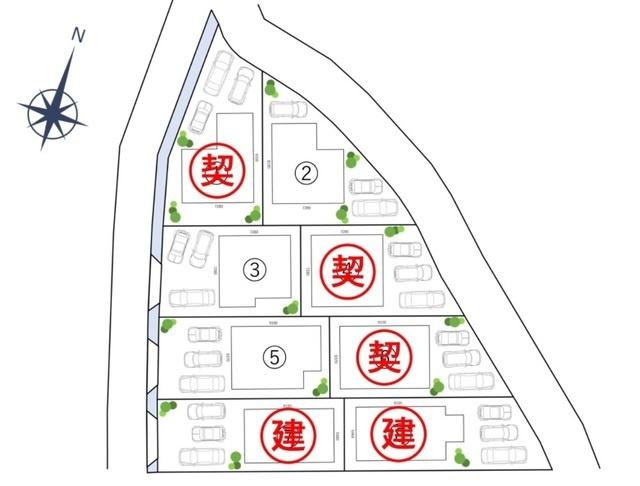 【土地図】高知市中秦泉寺建築条件付売地