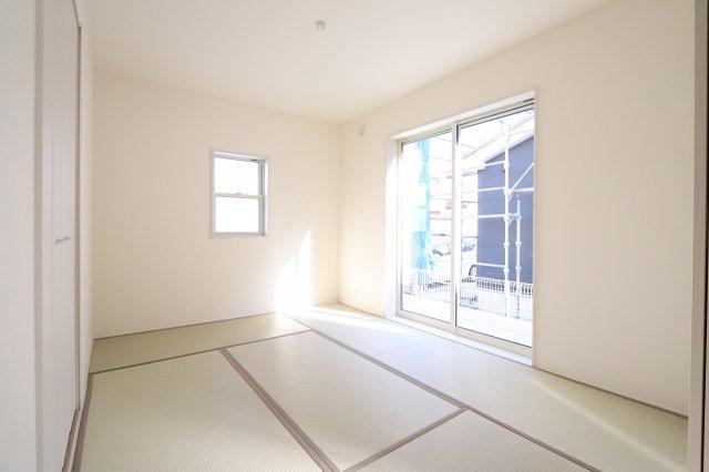 い草の香りが落ち着く素敵な和室です 三郷新築ナビで検索