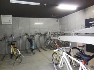 マンション専用駐輪場