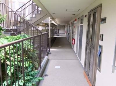 お部屋前の廊下です♪