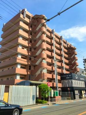 JR千里丘駅徒歩3分の立地です♪産業道路沿いのマンションです♪