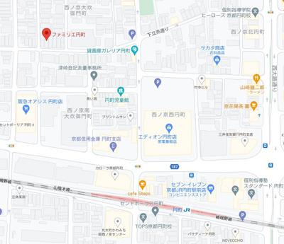【地図】京都市中京区の駅近一棟収益物件!