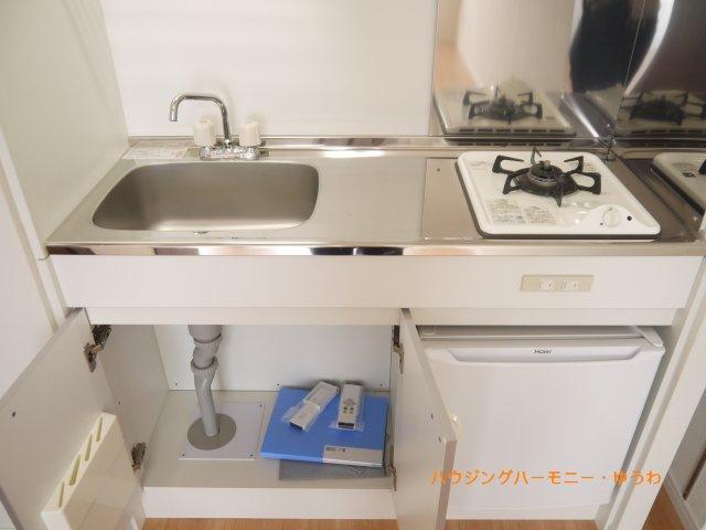 【キッチン】ホーユウコンフォルト飛鳥山東
