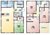 市原市岩崎 新築一戸建て 内房線五井駅の画像