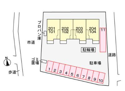【区画図】ブリズコリーヌ