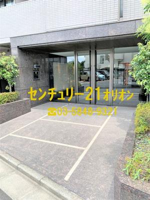 【エントランス】ルーブル鷺宮六番館(サギノミヤロクバンカン)