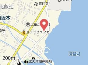 【地図】クレールひえい辻