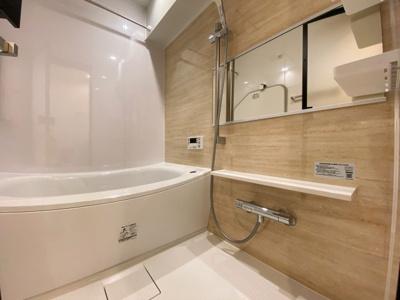 浴室乾燥付で雨の日でも楽々お洗濯♪ゆったりと一日の疲れを癒す快適空間に♪